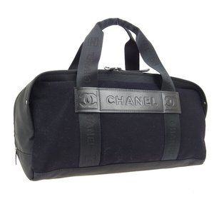CHANEL Sport Line CC Boston Hand Bag 9267174 Purse